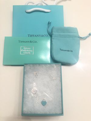 Tiffany and co necklace for Sale in Mesquite, TX