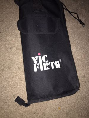 Vic Firth bag,drum sticks and 2 sets of mallets for Sale in Katy, TX