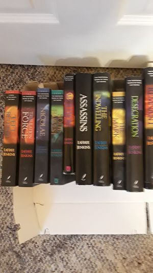 Volume 1 -10 of Left Behind series for Sale in St. Peters, MO