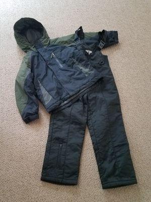 Snow clothes size 8 kids Columbia Snow coat jacket plus snow bib for Sale in Gilbert, AZ