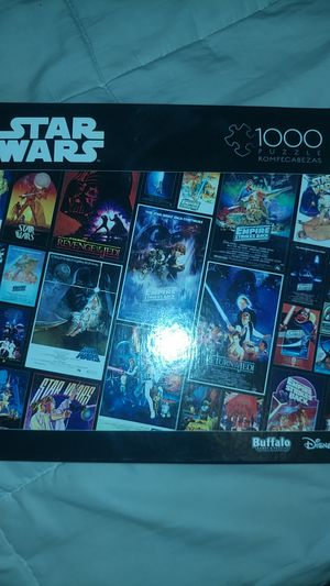 Buffalo games and puzzles Star Wars 1000 piece for Sale in Chula Vista, CA
