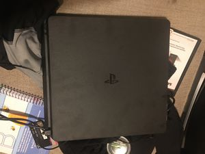 Sony ps4 1 terabyte slim with 2 controllers for Sale in Detroit, MI