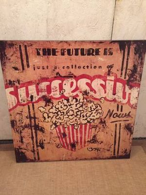 """Movie/Theater Room Canvas 36"""" x 36"""" for Sale in Millmont, PA"""