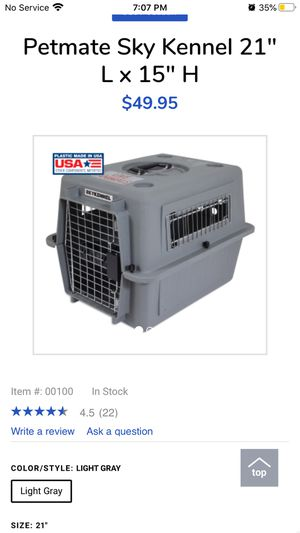Petmate sky kennel for Sale in Georgetown, KY
