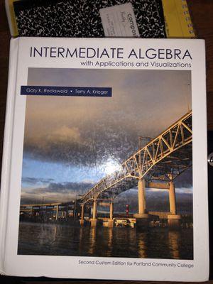 Intermediate algebra for Sale in Hillsboro, OR
