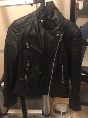 Barney's original genuine leather women jacket uk 14 medium/ large for Sale in Tucson, AZ