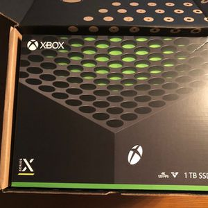 Xbox Series X Brand New Unopened With Seal And Receipt for Sale in Ashburn, VA