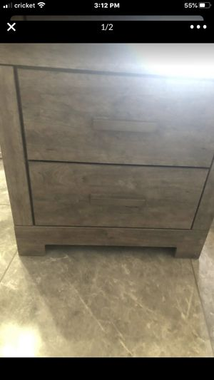 New gray Ashley nightstand for Sale in Peoria, AZ