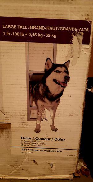 Large sliding glass dog door brand new for Sale in Surprise, AZ