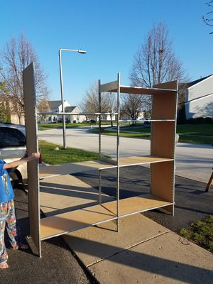 HD Metal and Wood Shelves for Sale in Aurora, IL