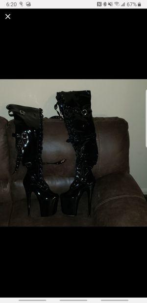 Pleaser thigh high boots for Sale in Oak Lawn, IL