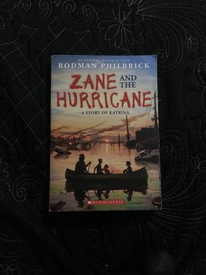 Zane and the hurricane by Rodman philbrick(paperback) for Sale in Houston, TX