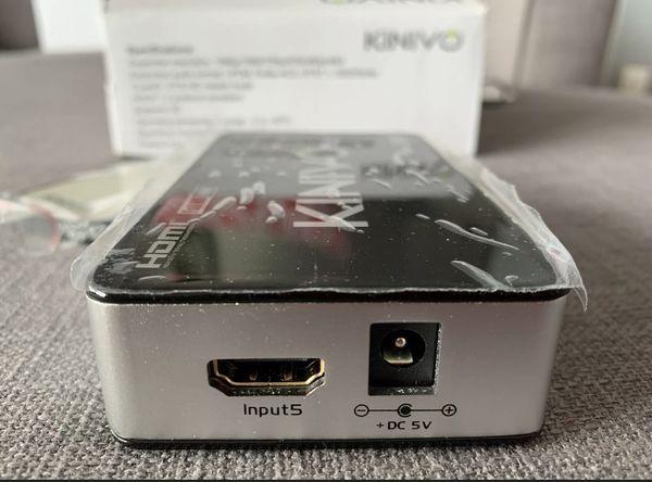 Kinivo 501BN 5 Port High Speed HDMI Switch