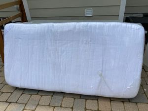 Twin mattress with bed frame for Sale in Alexandria, VA