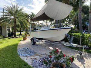 2001 mako 171 with trailer runs great for Sale in Deerfield Beach, FL
