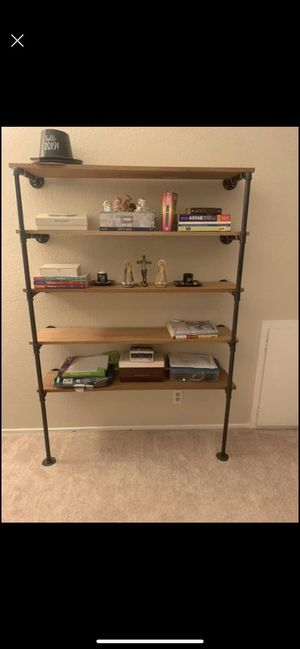 Industrial pipe bookshelves set for Sale in Fairfield, CA