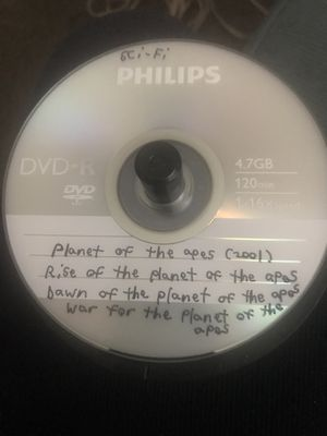 Planet of the apes/rise of the planet of the apes/etc for Sale in Granite City, IL