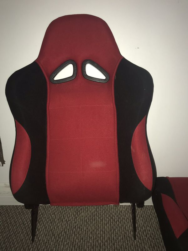 After market racing seat.