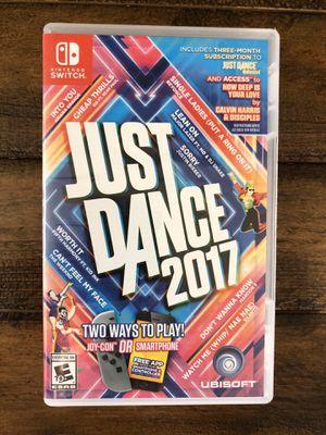 Nintendo Switch - Juste Dance 2017 for Sale in Irvine, CA