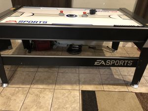 Air hockey and pool table for kids for Sale in Houston, TX