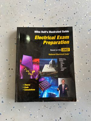Electrical Exam Prep 2002 NEC for Sale in Phelan, CA
