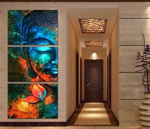 New Beautiful Buddha 3 Piece Canvas Wall Art for Sale in Naples, FL