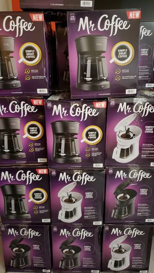 Cafeteras, Mr Coffee. for Sale in Hawthorne, CA