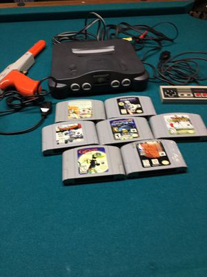 Nintendo game with 7 games for Sale in Holt, MI