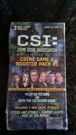COLLECTORS CSI CRIME SCENE GAME for Sale in Salinas, CA