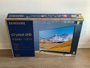55 inch crystal UHD tv 8 series (2020 model) for Sale in Scottsdale, AZ