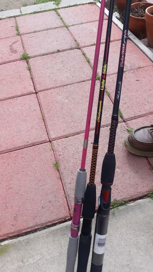 3 fishing poles for Sale in Paramount, CA