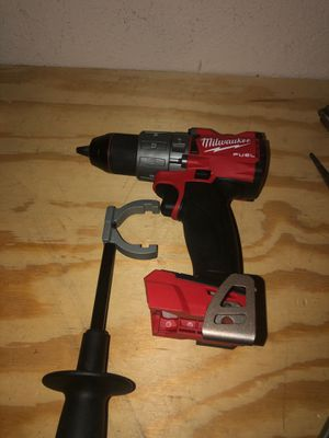 MILWAUKEE 18V FUEL BRUSHLESS HAMMER DRILL for Sale in Houston, TX