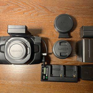 Black Magic Pocket Cinema Camera 4K for Sale in Los Angeles, CA