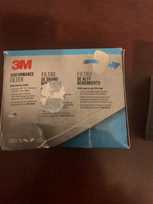 3M 5P71PB1 6000 Series Particulate Filter P95, 10-Pack for Sale in Las Vegas, NV