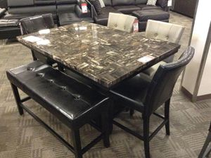 Brand new table and chairs! (Bench is separate) for Sale in Phoenix, AZ