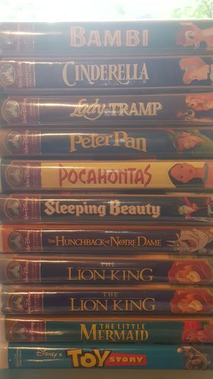 Disney VHS (Masterpiece Collection) for Sale in Grand Prairie, TX