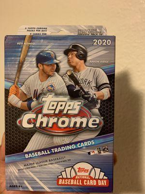 Topps chrome baseball trading cards for Sale in Bell, CA