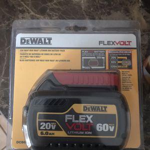 20V /60V Dewalt 6.0 flex volt for Sale in Houston, TX