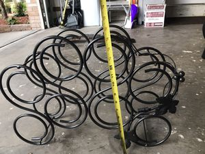 Wrought iron wine rack for Sale in Safety Harbor, FL