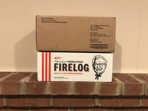 KFC Firelog for Sale in Rockville, MD