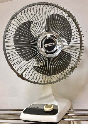 Vintage Panasonic oscillating fan for Sale in Portland, OR