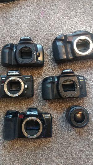 Minolta Film Cameras - Lot of 5 for Sale in Norcross, GA