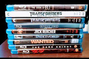 9 Blueray Movies Bundle $32 for Sale in Mesa, AZ