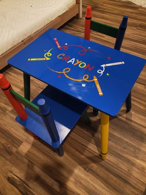 Crayon kids table for Sale in San Diego, CA