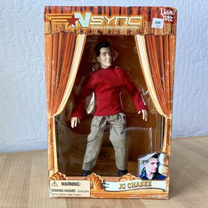"Living Toyz Nsync JC Chasez 10"" Collectable Marionette Figure Doll Toy for Sale in Elizabethtown, PA"