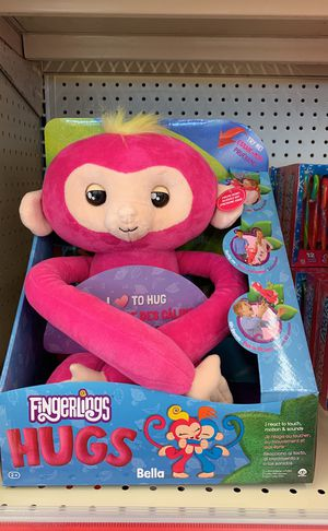 NEW in box Fingerlings Hugs interactive plush monkey for Sale in Alexandria, VA