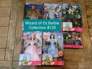 Wizard of Oz Barbie Collection for Sale in Phoenix, AZ