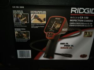 Ridgid Micro CA-150 Inspection Camera for Sale in Bakersfield, CA