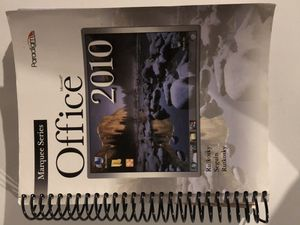 Office 2010 Textbook USED for Sale in Milford, PA