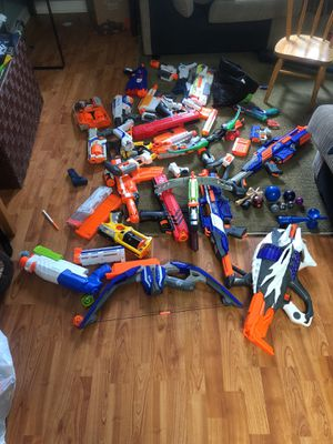 Nerf collection for Sale in San Jose, CA